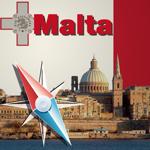 マルタ地図