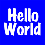 HelloWorld プログラミング学習