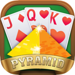Pyramid Solitaire Card Puzzle