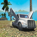 Flying Car Simulator : Jet Truck - Airplane Pilot