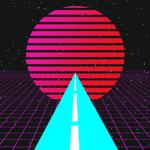 VR Vaporwave Drive