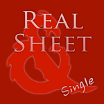 Real Sheet: D&D 5th Edition + Dice Table